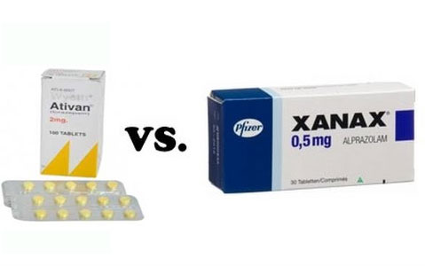 Difference between Ativan and Xanax