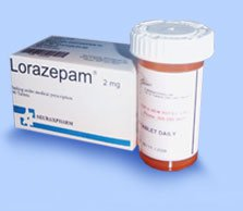 lorazepam complete box and pack
