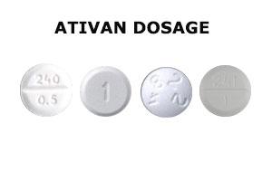 ativan-dosage